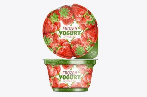 Yogurt/Icecream Packaging Mockup 2