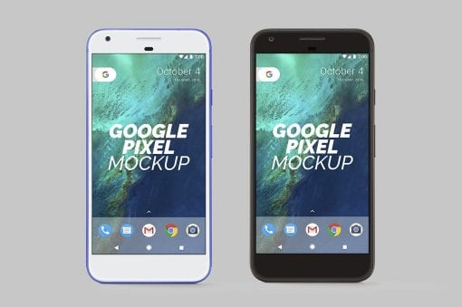 Google Pixel Mockup 1