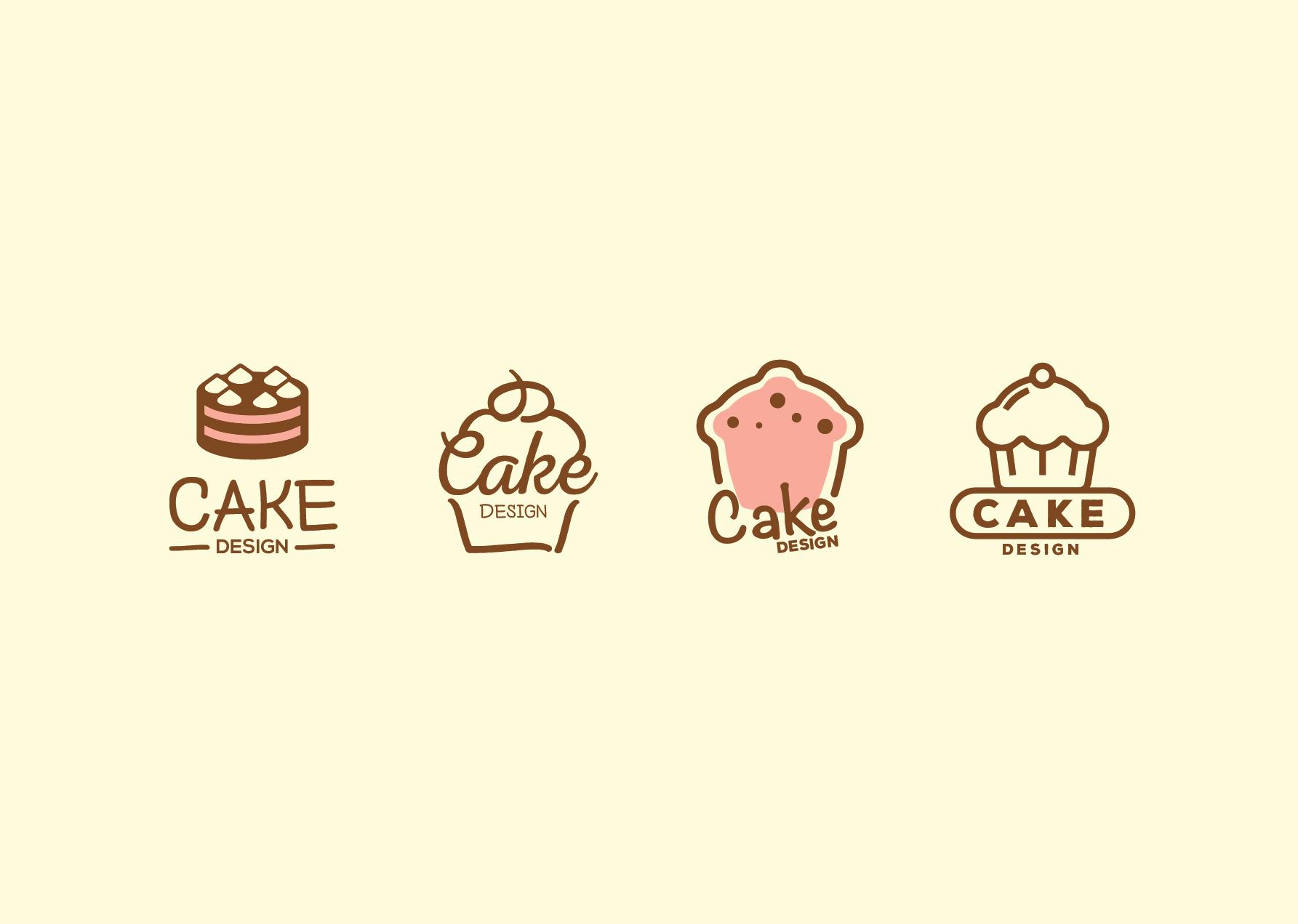 cake design logos