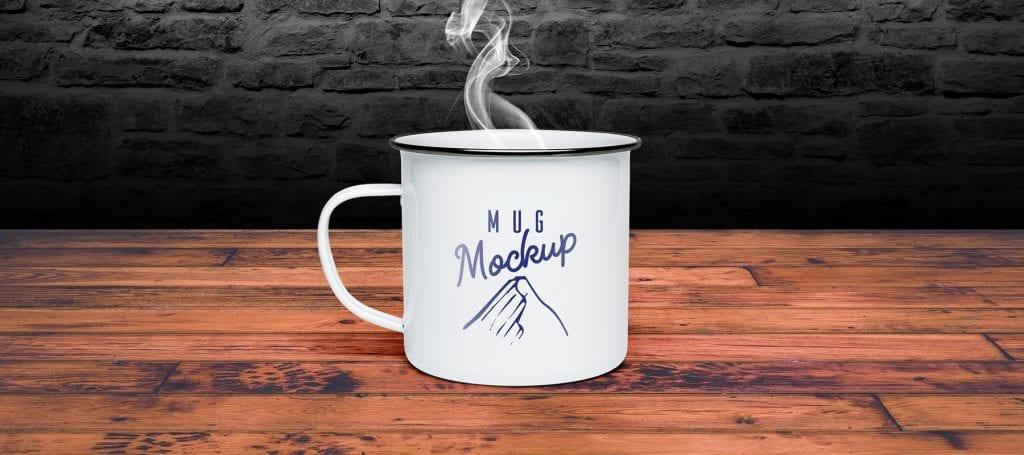 Tin Mug Mockup Cover