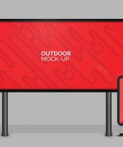 mupi outdoor mockup
