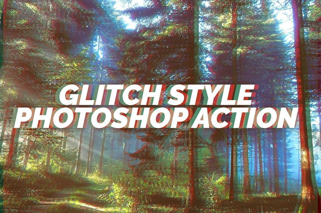 glitch effect cover