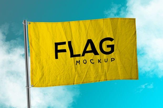 Flag Mockup cover