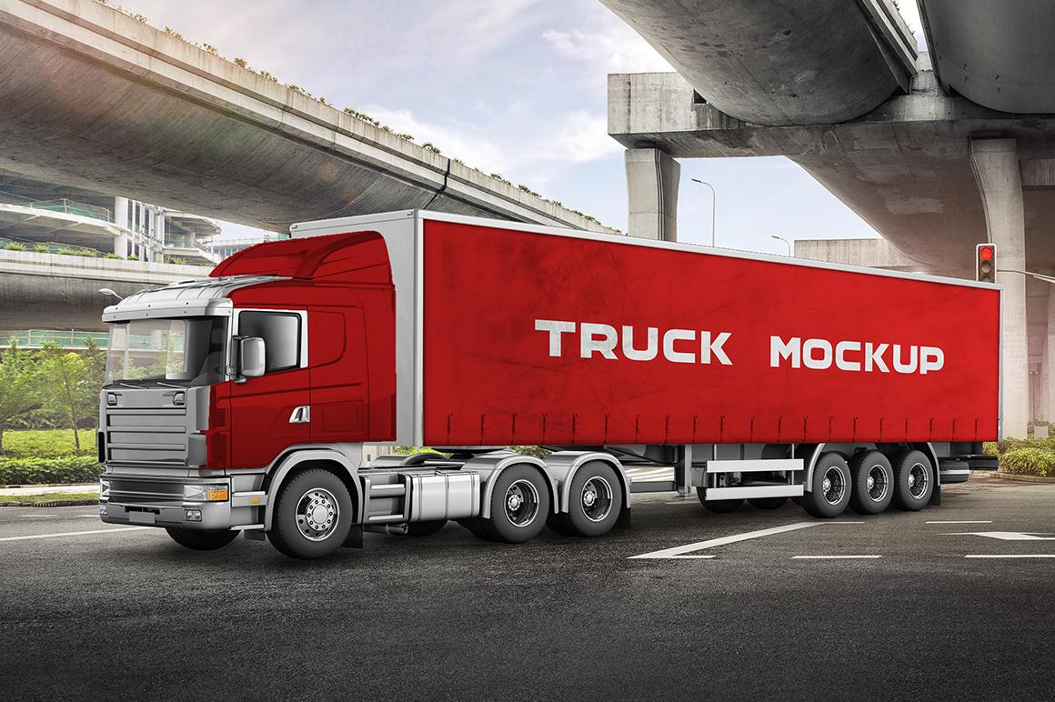 Truck Mockup 3
