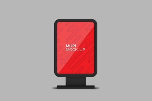 mupi mockup