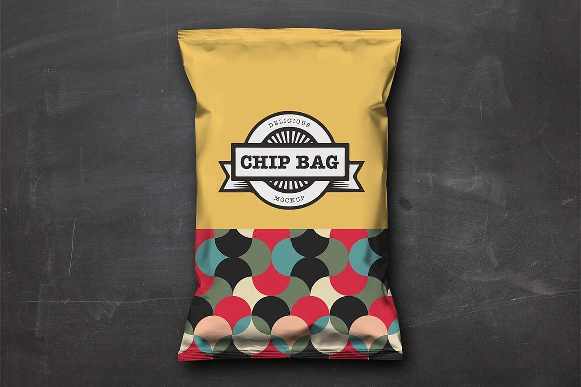 Chip Bag Mockup 6