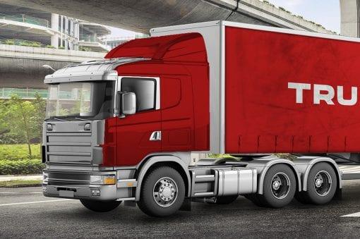 Truck Mockup 2