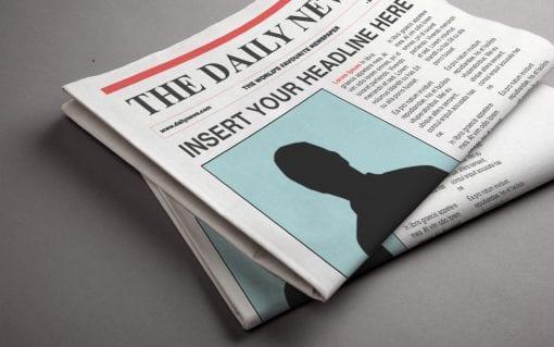 newspaper mockup 3