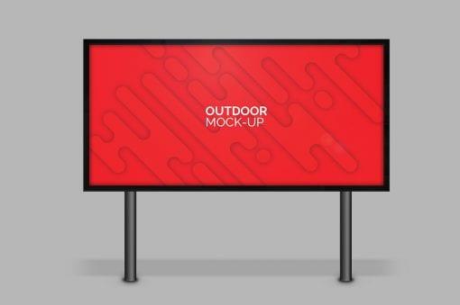 outdoor mockup