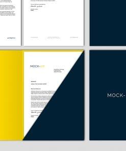 stationery branding mockup 3