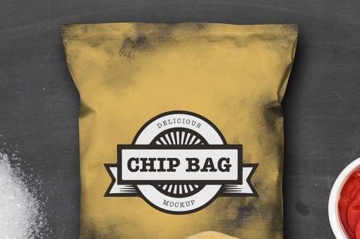 Chip Bag Mockup 5