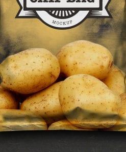 Chip Bag Mockup 4