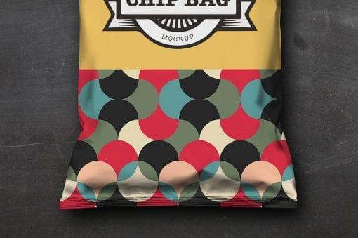 Chip Bag Mockup 2