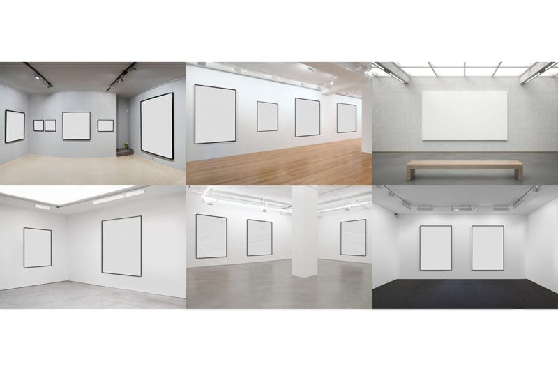 Art Gallery Mockup Cover