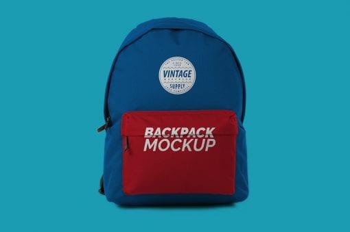 backpack bag mockup