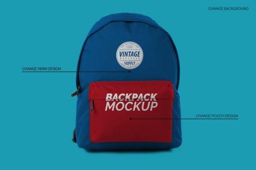 backpack bag mockup 1