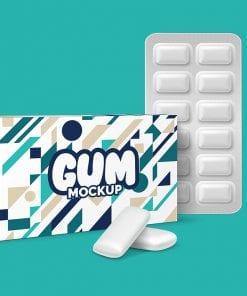 Gum Package mockup