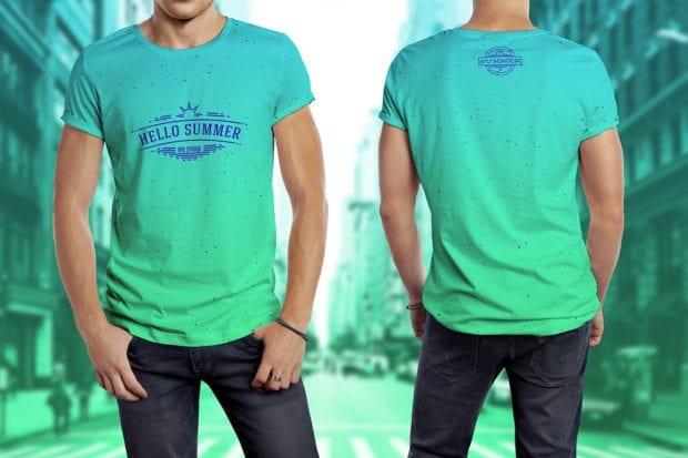T-shirt Model Mockup 1