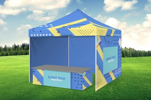 Party Tent Mockup 7