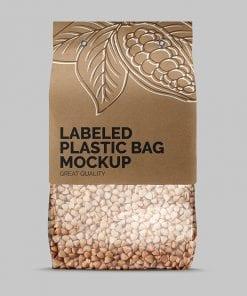 Label Plastic Bag Mockup 2