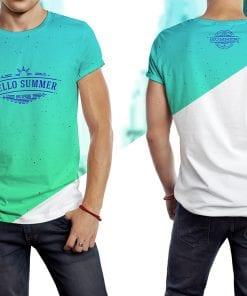 T-shirt Model Mockup 2