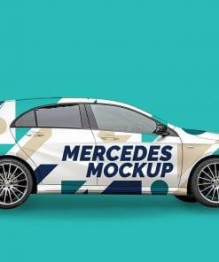 Mercedes A Mockup 1