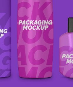 Cosmetic Packaging Mockups 2