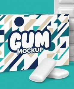 Gum Package mockup 3