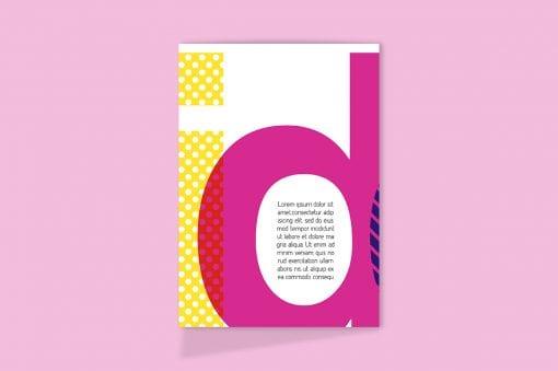 Tri-Fold A5 Brochure Mockup 3