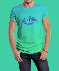 T-shirt Model Mockup 3