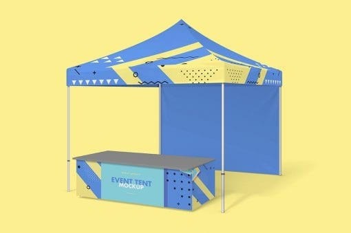 Party Tent Mockup 6