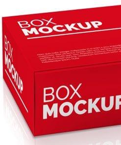Rectangular Box Mockup 3