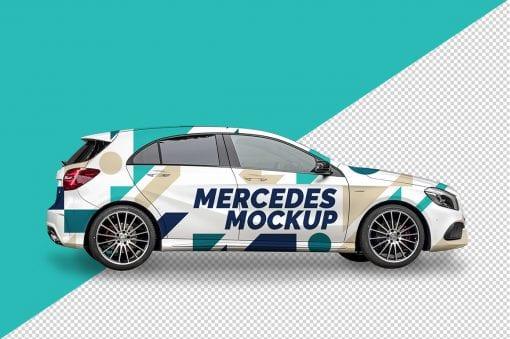 Mercedes A Mockup 2