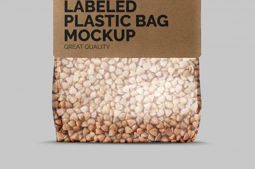 Label Plastic Bag Mockup 4