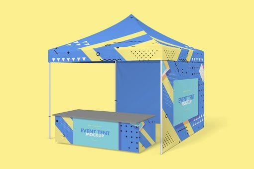 Party Tent Mockup 4