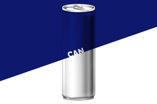 Energy Drink Can Mockup 3