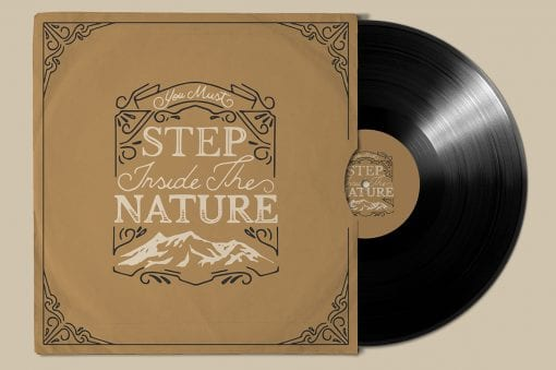 Vinyl Mockup 5