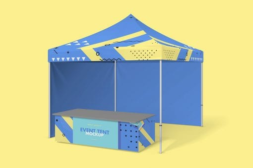 Party Tent Mockup 5