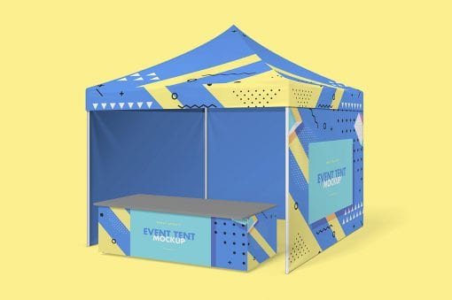 Party Tent Mockup 3