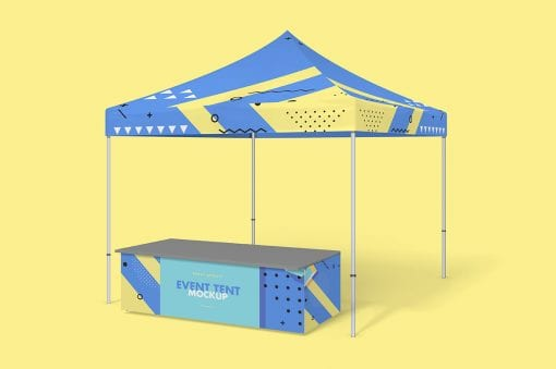 Party Tent Mockup 2