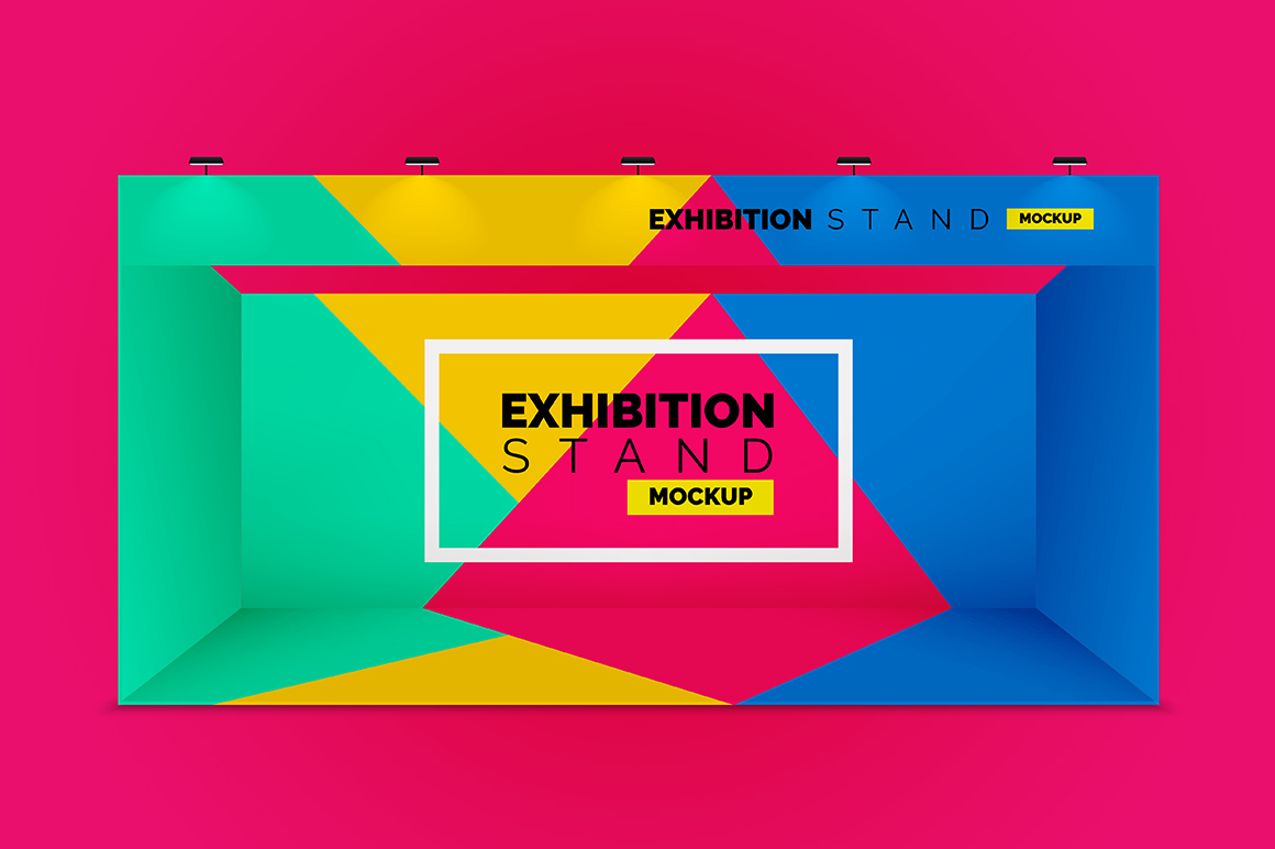 Exhibition Stand Mockup Free Download : Exhibition stands mockups mockupslib