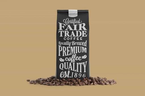 Coffee Bag Mockup 2 3