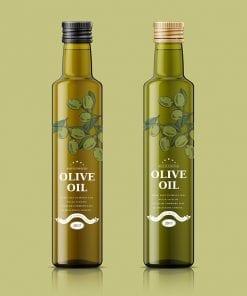 Olive Oil Bottle 2