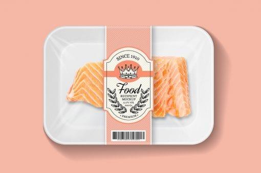 Food Tray Mockup 1