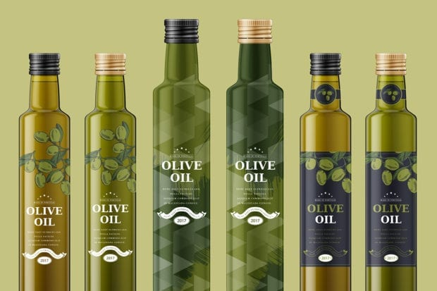 Olive Oil Bottle 4