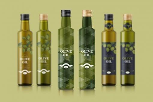 Olive Oil Bottle 5