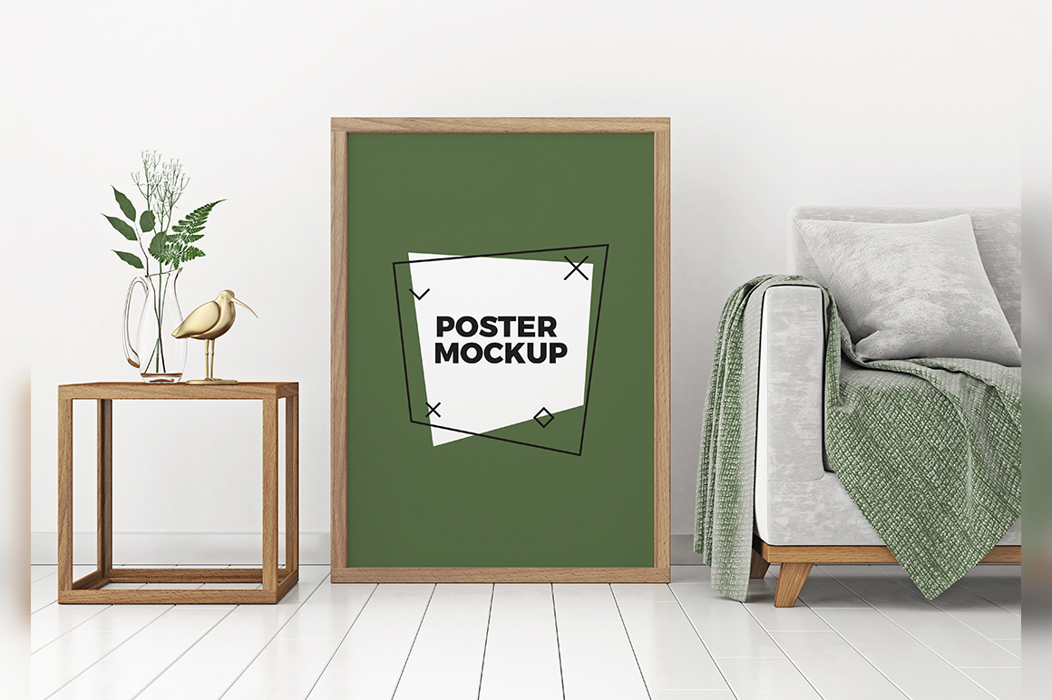 8 Home Poster Frame Mockups Mockupslib