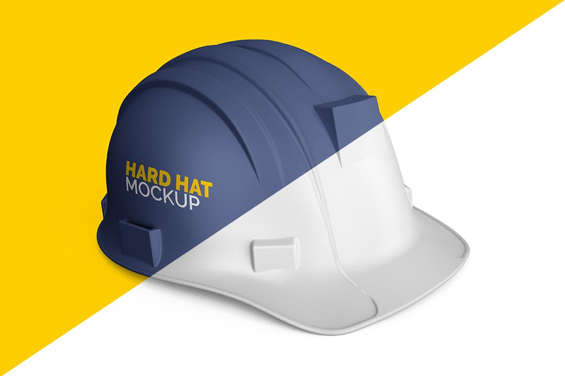 9f4590b0b25 Hard Hat Mockup (Construction Helmet) – Mockupslib
